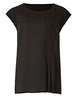 Side Pleat Blouse