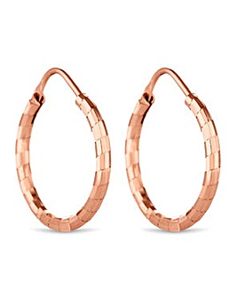 Simply Silver hoop earring