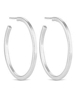 Simply Silver hoop earring