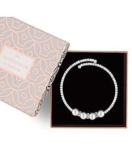 Jon Richard pearl coil bracelet