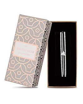 Jon Richard multi row crystal bracelet