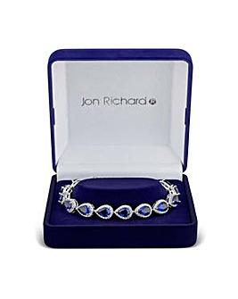 Jon Richard multi peardrop bracelet