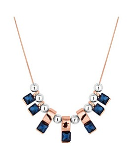 Jon Richard crystal stick necklace