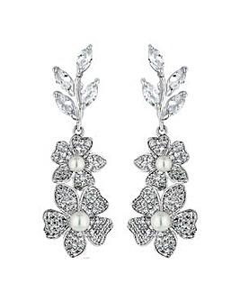 Alan Hannah pearl flower earring