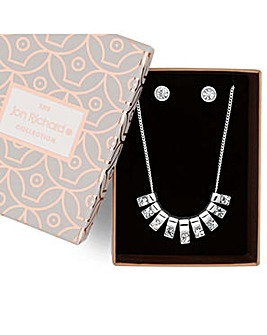 Jon Richard crystal stick jewellery set
