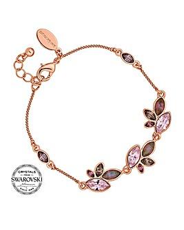 Jon Richard pink tonal bracelet