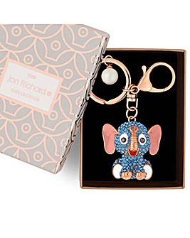 Jon Richard elephant keyring