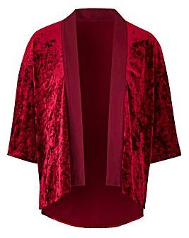 Crushed Velour Kimono