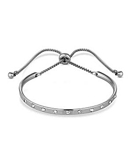 Jon Richard curved bar toggle bracelet