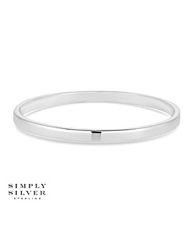 Simply Silver classic bangle
