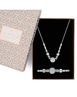 Jon Richard glitter inlay jewellery set