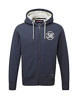 Tog24 Exeter Mens Fleece Lined Hoodie