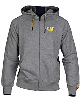 Caterpillar Logo Stripe Zip up