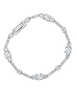 Alan Hannah silver square bracelet