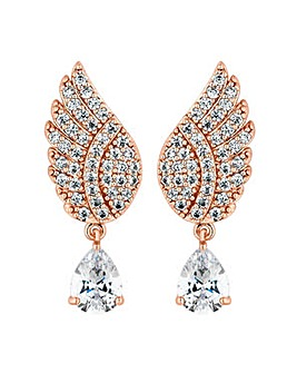 Jon Richard angel wing earring