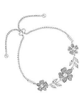 Alan Hannah flower toggle bracelet