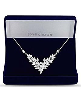 Jon Richard floral statement necklace