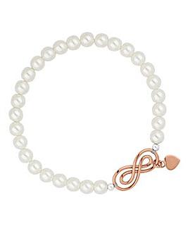 Simply Silver infinity bracelet