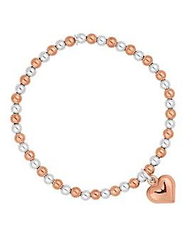 Simply Silver beaded bracelet