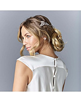 Jon Richard Leaf Wrap Around Hair Comb