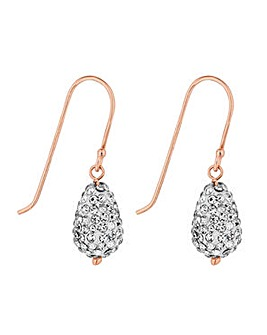 Simply Silver teardrop earring