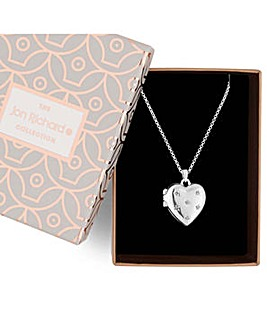 Jon Richard crystal heart necklace