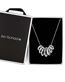 Jon Richard graduated link necklace