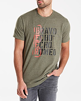 Jacamo Nectar Graphic T-Shirt Long