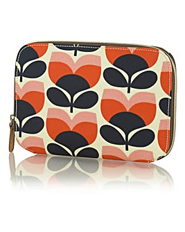 Orla Kiely Flower Stripe Makeup Case