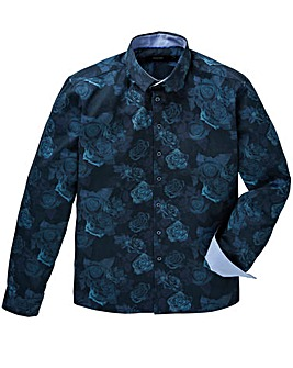 Black Label Floral Print Shirt