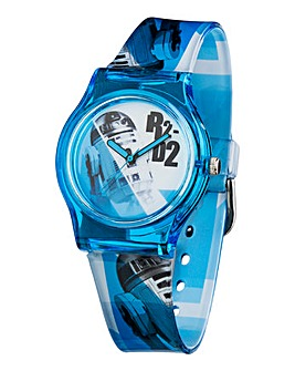 STA WARS R2 D2 QA WATCH