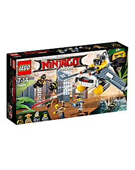 LEGO The NINJAGO Movie Manta Ray Bomber