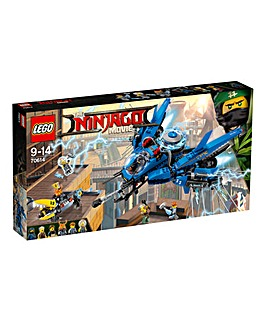 LEGO The NINJAGO Movie Lightning Jet