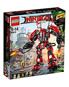 LEGO The NINJAGO Movie Kays Fire Mech