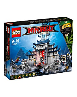 LEGO The NINJAGO Movie Temple of The