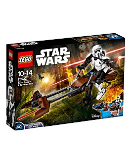 LEGO Star Wars Scout & Speeder Bike