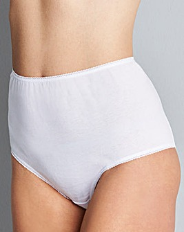 5 Pack Value White Shorts