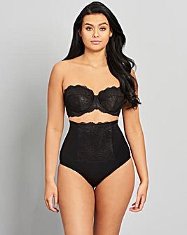 Ella Firm Control Waist Nipper Black