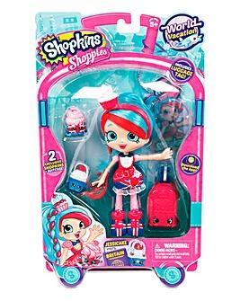 Shopkins World Tour Dolls Jessicake