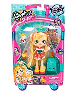 Shopkins World Tour Dolls Spaghetti Sue