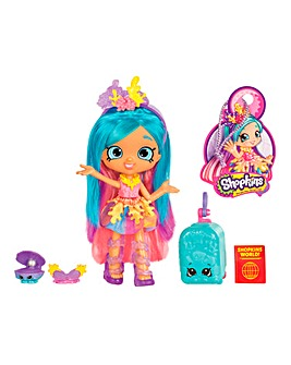 Shopkins World Tour Themed Dolls Coralee
