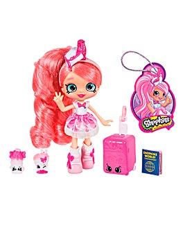 Shopkins World Tour Dolls Pinkie Cola