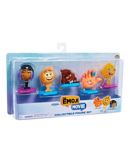 The Emoji Movie Collectible Figure Set