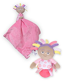 ITNG Upsy Daisy Chime Toy and Blanky
