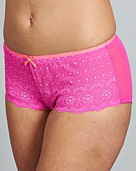 2 Pack Imogen Pink/White Shorts