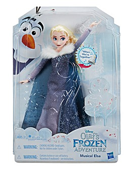 Frozen Holiday Special Singing Doll