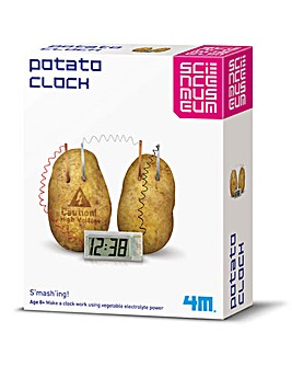 Science Potato Clock