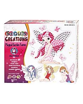 Sequin Creations Magical Garden Fairies