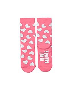 Heartbreaker Fluffy Socks