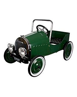 Classic Pedal Car- Green